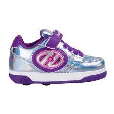 heelys light up shoes heelys x2 plus light up shoes silver purple pink skates co uk