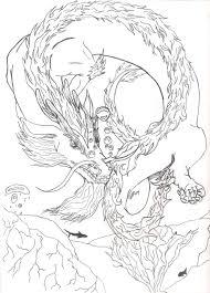 water dragon sketch by ladyjet2 on deviantart