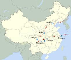 Chengdu China Map by Classic China And Grand Yangtze Cruise 18 Days Cnto China Like