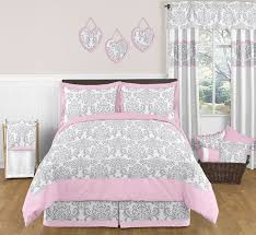 Solid Pink Comforter Twin Teen Bedding Sets In Full And Queen Sizes Regarding Pink