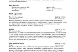 Costco Resume Examples by Baker Resume Examples Reentrycorps