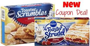 Toaster Strudle Pillsbury Toaster Strudel And Scrambles Coupon