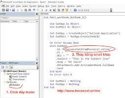 Excel Vba On Error Resume Next Tổng Hợp Cách Gửi Email Từ Excel Bằng Vba Học Excel Online Miễn Phí