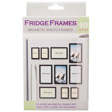 fridge frames 10 set magnetic photo frames big w