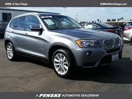 san diego bmw used cars used bmw x3 at bmw of san diego serving san diego el cajon