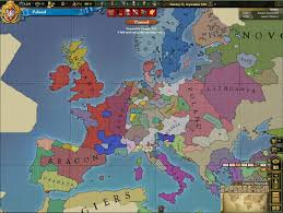 Map Of Europe Game by New Primus Universi Ii Official Eu3 Mp Game