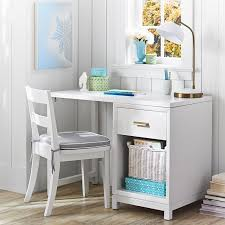 Small Desk With Drawer Rowan 1 Drawer Single Pedestal Desk Pbteen