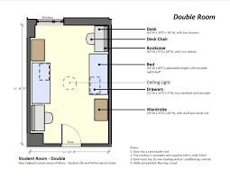 Conservatory Floor Plans Sample Residence Room Layouts New England Conservatory