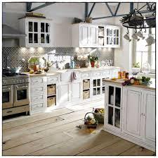 cuisine rustique blanche étourdissant cuisine rustique blanche et cuisine rustique blanche