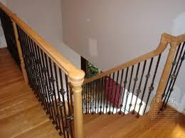 Interior Wood Railing Stairway U0026 Railing Replacement In Northern Virginia Mitre