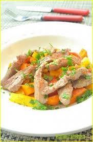 cuisine d automne recette sauté d agneau express légumes d automne 750g