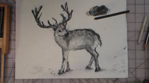 how to draw a reindeer youtube