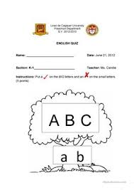 13 free esl big and small worksheets