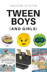 16 gift ideas for tween boys and tween wendolonia