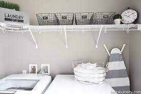 Laundry Room Shelves And Storage Diy Laundry Room Shelving Storage Ideas Fantabulosity