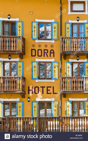 dora hotel la thuile valle d u0027aosta italy stock photo royalty