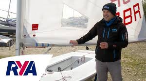 laser sail rigging top tips with mike lennon lennon performance