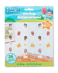 amazon com bubble guppies hanging party decorations party