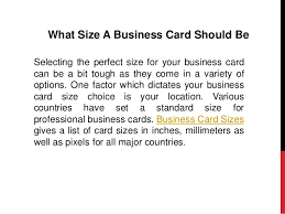 Pixel Size Of Business Card What To Include In Your Business Card