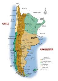 Super Map of Argentina and Chile | Southwind Adventures #XI73