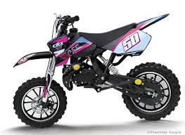 motocross toy bikes crx race 50cc mini dirt bike in black pink xtreme toys