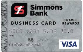 Visa Business Card Visa Business Platinum Rewards Card Simmons Bank