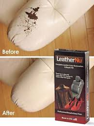Leather Sofa Discoloration Repair Worn Stained Discolored Or Torn Leather With Our