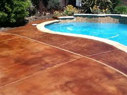 Outdoor Concrete Patio Paint 22 Best Staining Around Pools Images On Pinterest Concrete Pool