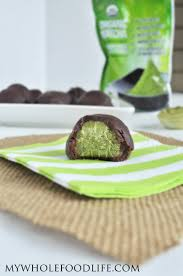 truffle whole foods matcha truffles vegan gluten free paleo my whole food