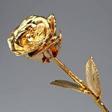 Rose Dipped In Gold Real Natural Rose Dipped In Real 24k Gold Manufacturer In Delhi