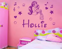 Little Girls Bedroom Wall Decals Aliexpress Com Buy Personalized Name Monster High Draculaura