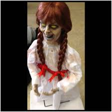 halloween doll wig grim animated halloween doll mad about horror