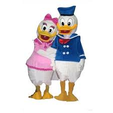 duck costume donald and duck look a like costume hire athlone jokeshop
