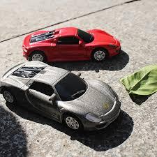 shop 1 64 alloy car model toys porsche 918 sports car