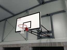 Adjustable Basketball Hoop Wall Mount Wall Mounted Basketball Systems