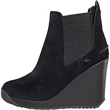 lacoste womens boots uk lacoste womens terrianne boots black uk 8 42 amazon co uk
