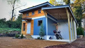 Tennessee Tiny Homes by Small Home Urban Micro Home In Downtown Chattanooga Tennessee