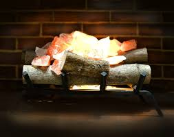himalayan salt lamp fireplace high quality 100 life time guarantee