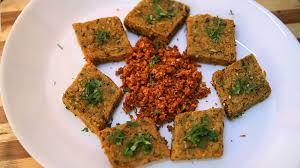 vdi cuisine best kothimbir vadi coriander fritters by archana