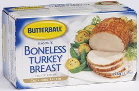 boneless turkey butterball seasoned boneless turkey breast roast walmart canada