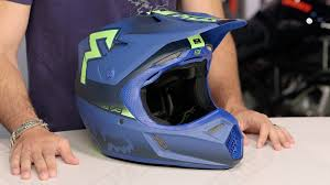 fox motocross clothes fox racing v3 franchise helmet review at revzilla com youtube