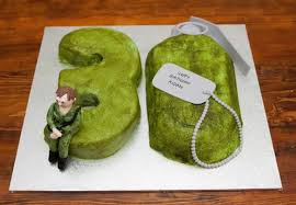 Aidan U0027s Army Themed 30th Birthday Cake Lauren Boxall Cakes