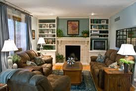 Family Room Remodel  Grasscloth Wallpaper - Family room remodel