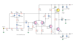 7 1 home theater circuit diagram high quality tone control circuit by transistor low noise