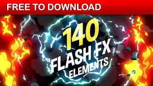 free download template flash 140 flash fx elements v2 after effects template free download