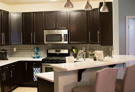 Gel Stain Kitchen Cabinets Before After Kitchen Remodel With General Finishes Java Gel Stain U2022 The Mix