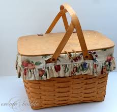 longberger paint a longaberger basket create and babble