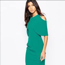 53 off asos dresses u0026 skirts asos vesper dress shoulders