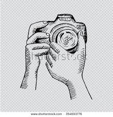 royalty free sketch of hands with compact photo u2026 237390823 stock