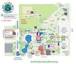 Festival Map Festival Map And Parking Plano International Festival
